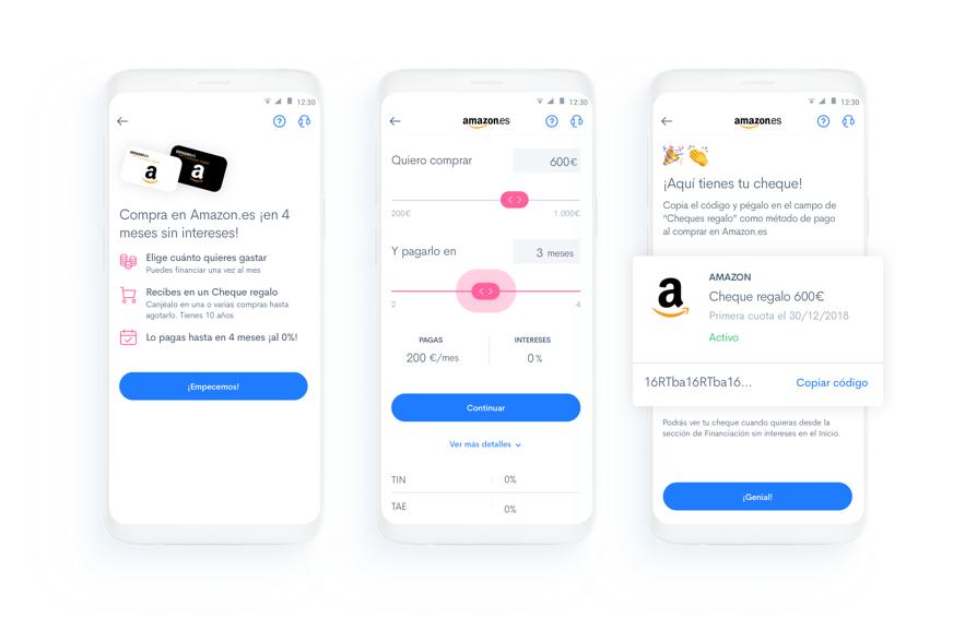 Financia tus compras en Amazon.es sin intereses con Fintonic